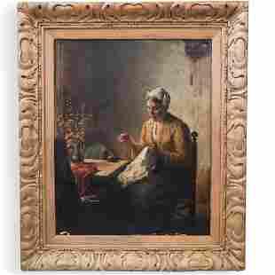 Bernard de Hoog (Dutch, 1867-1943) Oil Painting