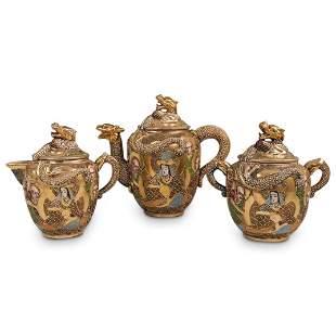Satsuma Porcelain Tea Set