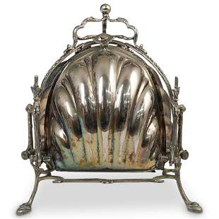 Victorian Silver Plated Toast Warmer