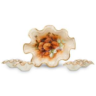 (5 Pc) French Goa Porcelain Set