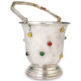 Mid Century SIlverplate Ice Bucket
