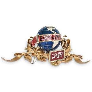 Vintage Schlitz Beer Light Up Globe Sign