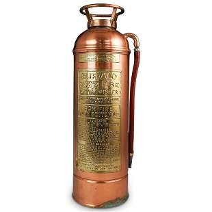 """Buffalo"" Antique Fire Extinguisher"