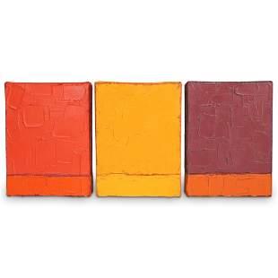 Rene Rietmeyer, (German. 1957) Abstract Paintings