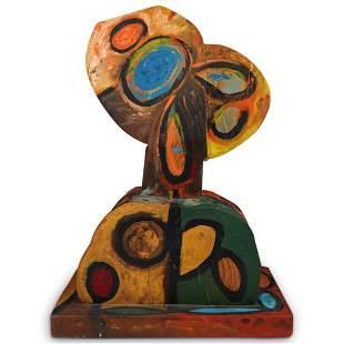 """Italo Scanga """"Head 50"""" Abstract Bust Sculpture"""