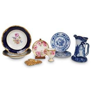 (10 Pc) German Miscellaneous Porcelain Set