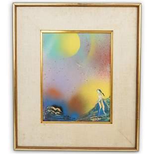 J. James Akston Oil Painting