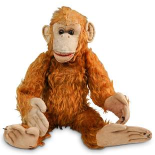Vintage Steiff Plush Monkey