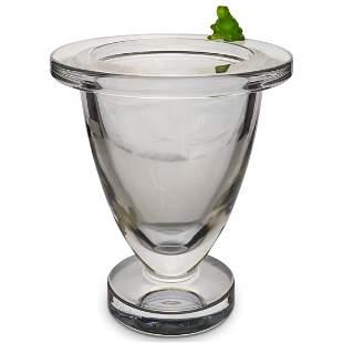Limited Edition Daum Crystal Vase
