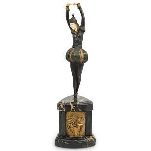 "Demetre Chiparus (Romanian,1886-1947) ""Bayadere"" Bronze"