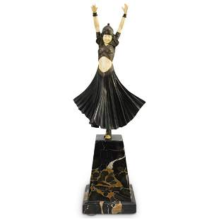 "Demetre Chiparus (Romanian,1886-1947) ""Hindu Dancer"""