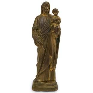 Bronze Religious Statue