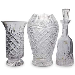 (3 Pc) Waterford Crystal Collection
