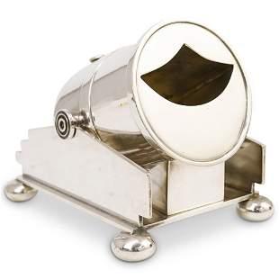 Elkington Co. Silver Plated Cannon Spoon Warmer