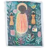 Louisiane St. Fleurant (Haitian 1924-2005) Oil On
