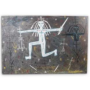 Stevenson Magloire (Haiti/Petionville, 1963-1994) Oil