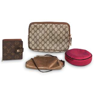 (4 Pc) Ladies Purse / Wallet / Belt Grouping