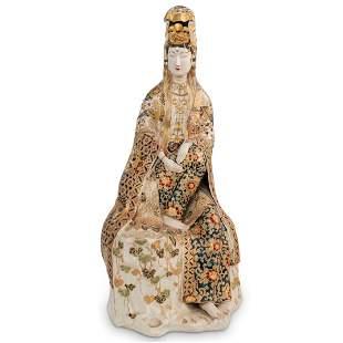 Antique Satsuma Guanyin