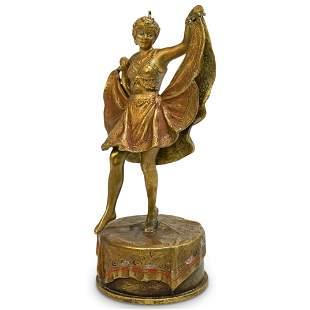 Franz Xaver Bergman (Austrian 1861-1936) Erotic Dancer