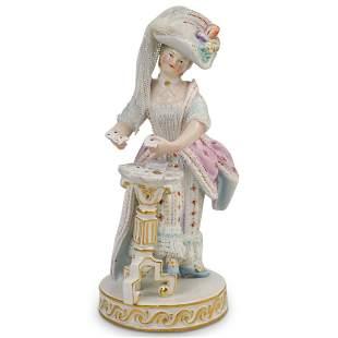 Meissen Porcelain Tarot Reader Figurine