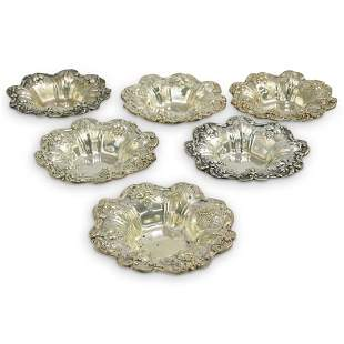 (6pcs) Francis 1 Sterling Silver Serving Dishes