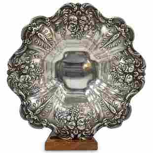 Francis 1 Sterling Silver Footed Bowl