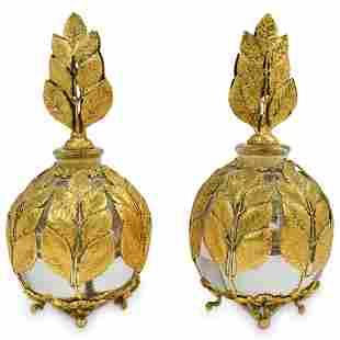 Antique French Perfume Bottle Set