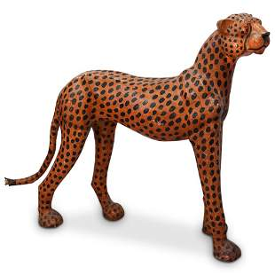Leather Wrapped Cheetah