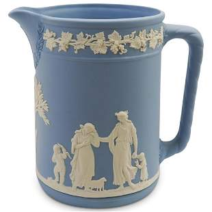 Wedgewood Jasper Porcelain Pitcher