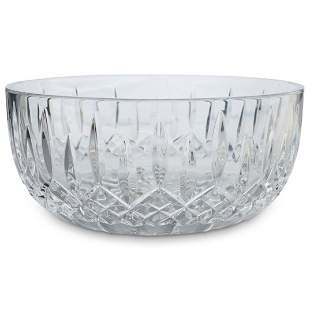 Waterford Crystal Glass Lismore Salad Bowl