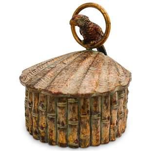 Wood Carved Decorative Box