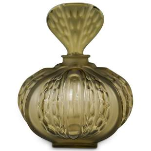 "Lalique ""Mirabel"" Glass Vanity Bottle"