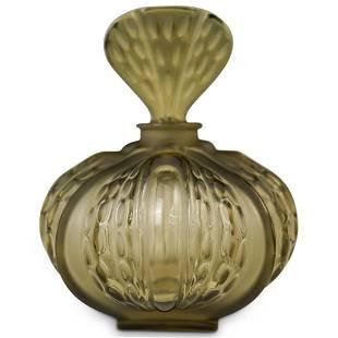 """Lalique """"Mirabel"""" Glass Vanity Bottle"""