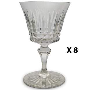 "(8 Pc) Baccarat ""Buckingham"" Crystal Glasses"