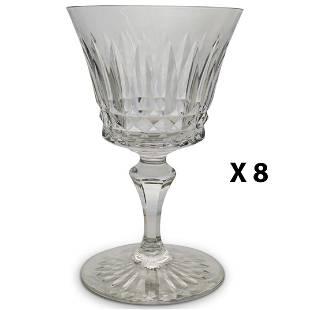 "(8 Pc) Baccarat ""Buckingham"" Crystal Glasses"