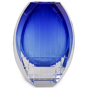 """Baccarat Crystal """"Neptune"""" Flower Vase"""