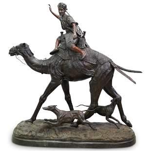 Pierre Jules Mene (French, 1810-1879) Monumental Bronze