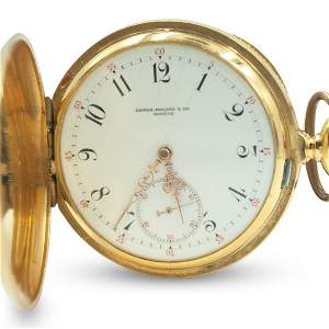 Antique Patek Philippe Gold Pocket Watch