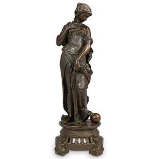 After Auguste Moreau (French, 1834-1917) Bronze