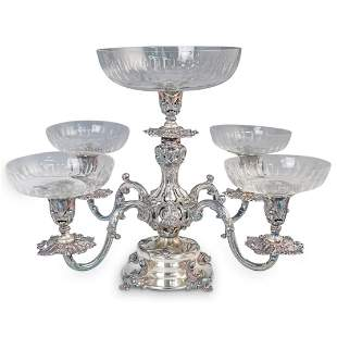 "Reed & Barton Silver Plated ""Epergne"" Centerpiece"