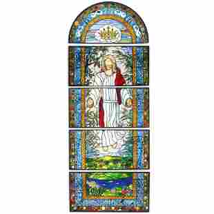 Monumental Religious Stained Glass