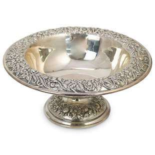 S. Kirk & Sons Sterling Silver Repousse Tray