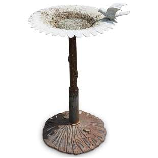 Cast Iron Garden Bird Bath
