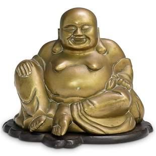 Antique Chinese Brass Buddha