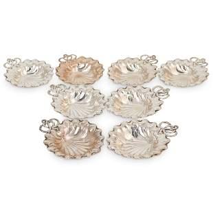 (8pc) Gorham Sterling Silver Mini Trays