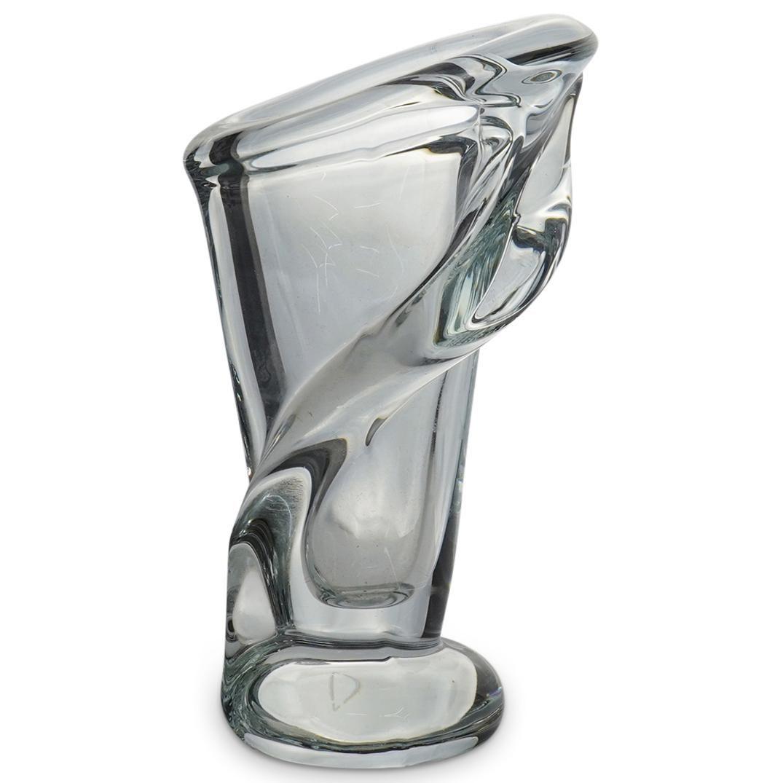 Vannes France Crystal Vase