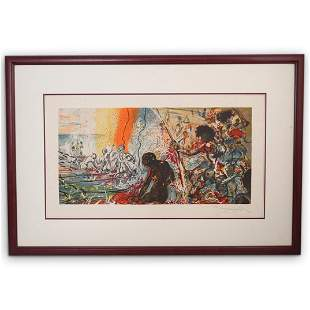 "Salvador Dali (1904-1989) ""Hawaiian Fishermen"""