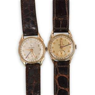 (2Pc) Benrus Gold Filled Watches