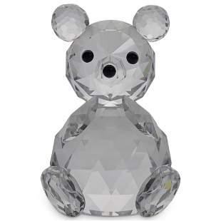 Swarovski Crystal Sitting Teddy Bear