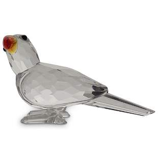 Swarovski Crystal Parrot Figurine